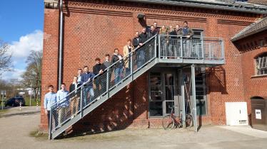 Projektseminar-Team, Community Manager*innen der Rheinischen Post und Betreuer-Team (v.l.n.r.)
